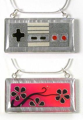 Nintendo necklace