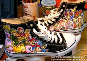 Nintendo Chuck Taylors