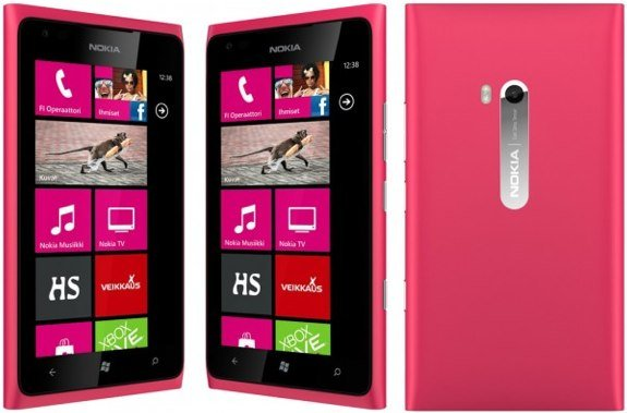 Nokia Lumia 900 pink