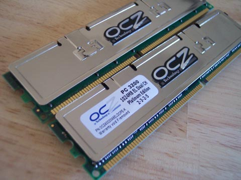 OCZ Platinum PC3200