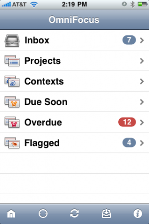 OmniFocus for iPhone 1.5