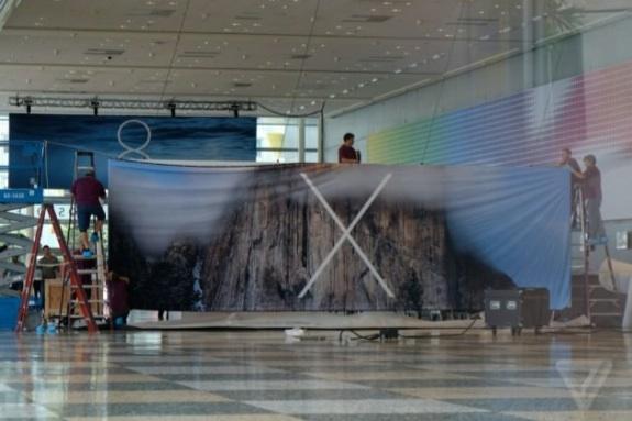 OS X 10.10 WWDC banner