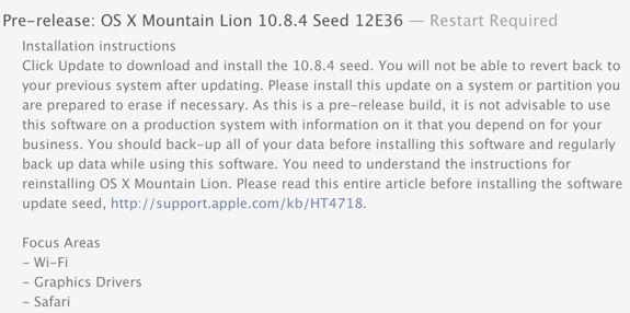 OS X Mountain Lion 10.8.4 12e36 download