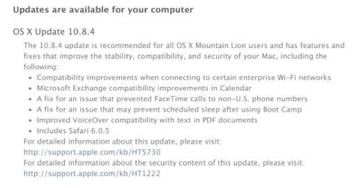 Mac OS X 10.8.4