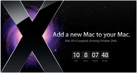 Mac OS X Leopard Launch