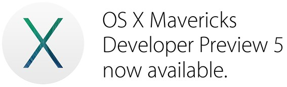 OS X Mavericks Developer Preview 5 13a538g