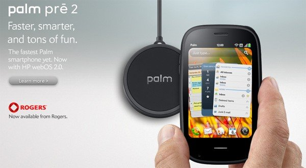 palm pre 2 rogers