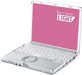 Let's Note Light Netbook