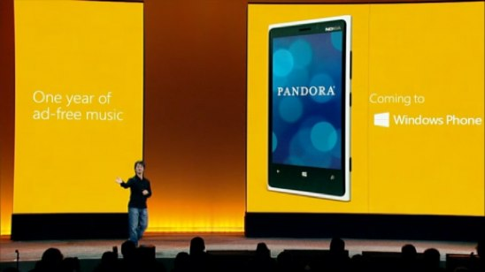 Pandora Windows Phone 8