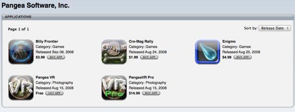 Pangea App Sale
