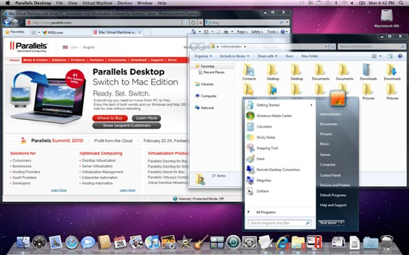 Parallels Desktop 5 for mac 9370