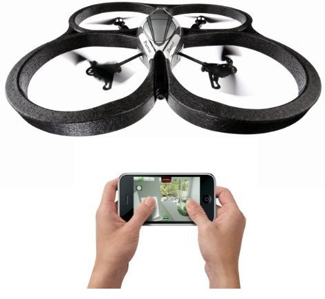 Parros AR.Drone quadricopter