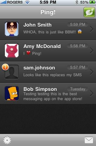 Ping! App