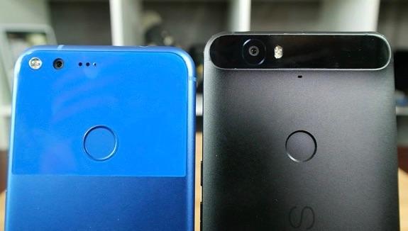 Google Pixel vs Nexus 6P