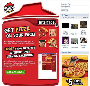 Pizza Hut Screenshot