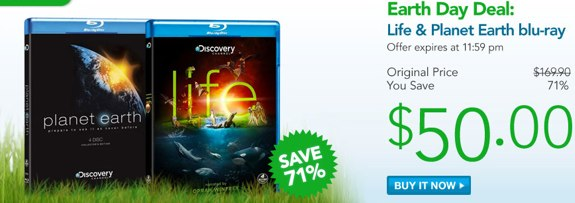 Planet Earth Life Blu-ray sale