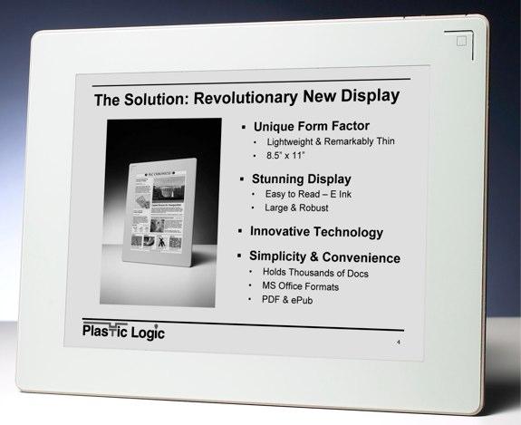 Barnes & Noble Plastic Logic eReader