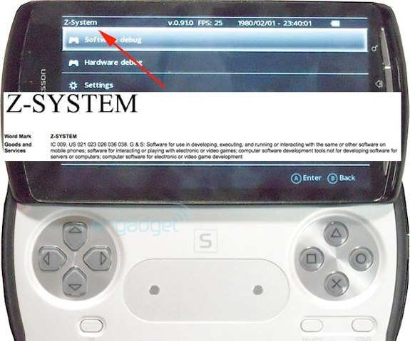 Playstation phone z-system