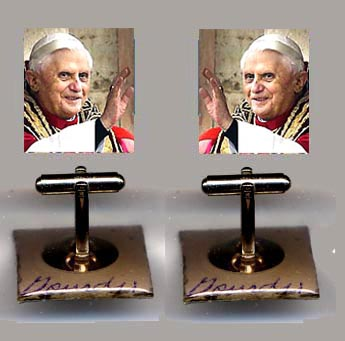 Pope Benedict Cuff Links