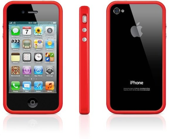 Product Red bumper case iPhone 4S