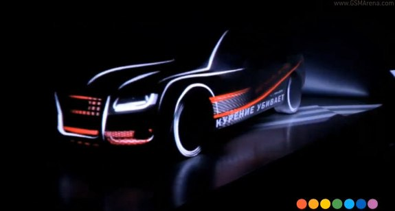 Projection mapping cars