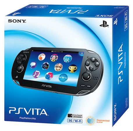 Playstation Vita box