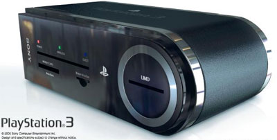 Playstation 3 Mockup
