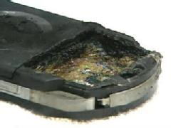 Burned PSP