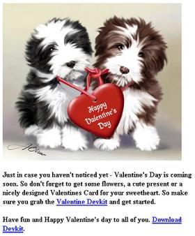 Valentine Devkit