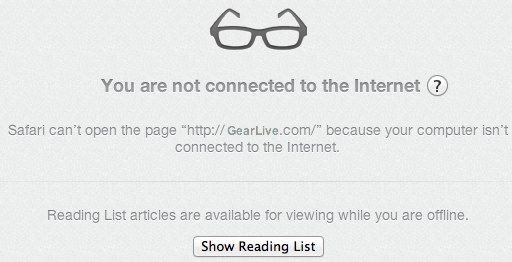 Safari Reading List Offline