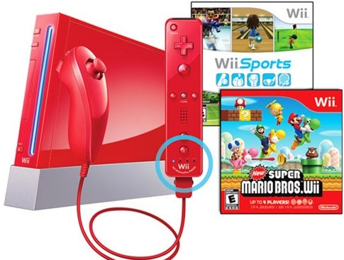 red wii sale