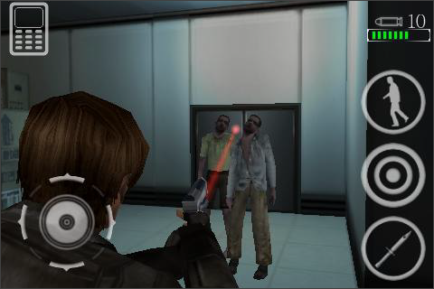 Resident Evil Degeneration iPhone