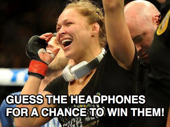 Ronda Rousey Headphones Monster Inspiration giveaway