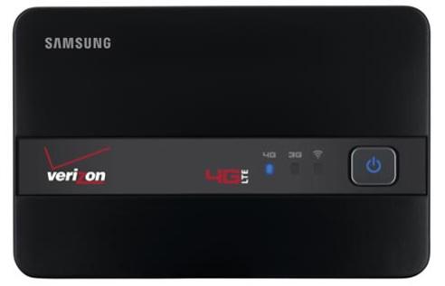 Samsung Verizon 4G LTE hotspot