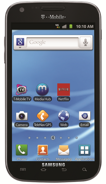 Galaxy S II Epic touch 4g