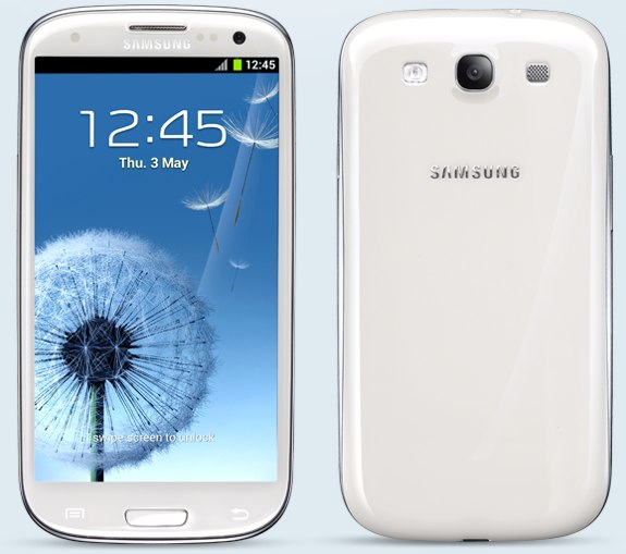 Samsung Galaxy S III white