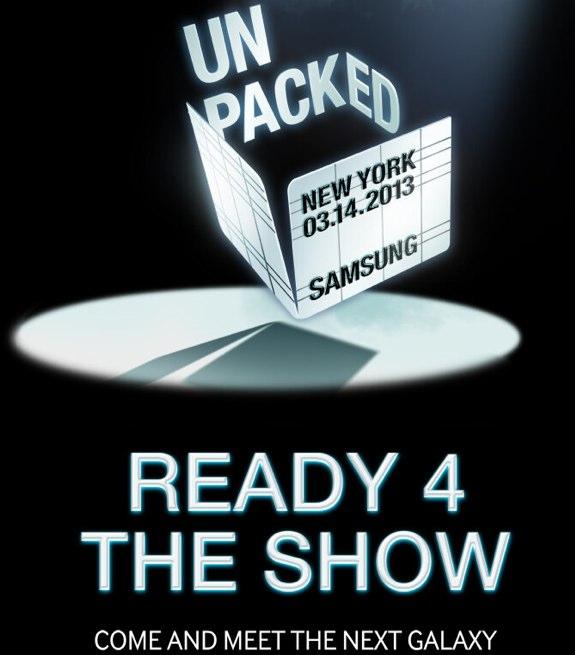 Samsung Galaxy S IV invite