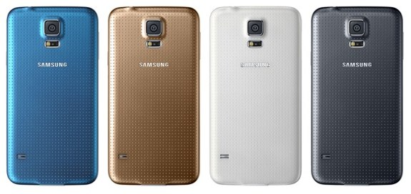 Samsung Galaxy S5 colors