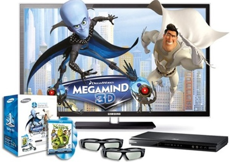 samsung pn51d7000 3d bundle sale
