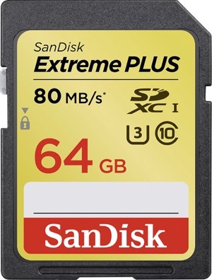 SanDisk Extreme Plus SD card
