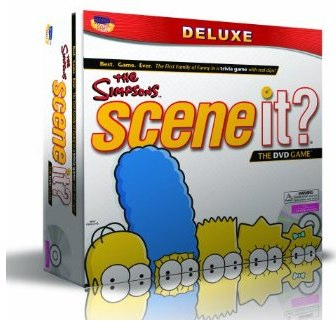 Scene It! Deluxe Simpsons Edition