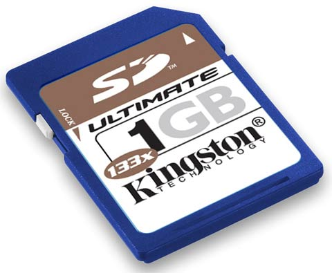 Kingston SD Ultimate 133x