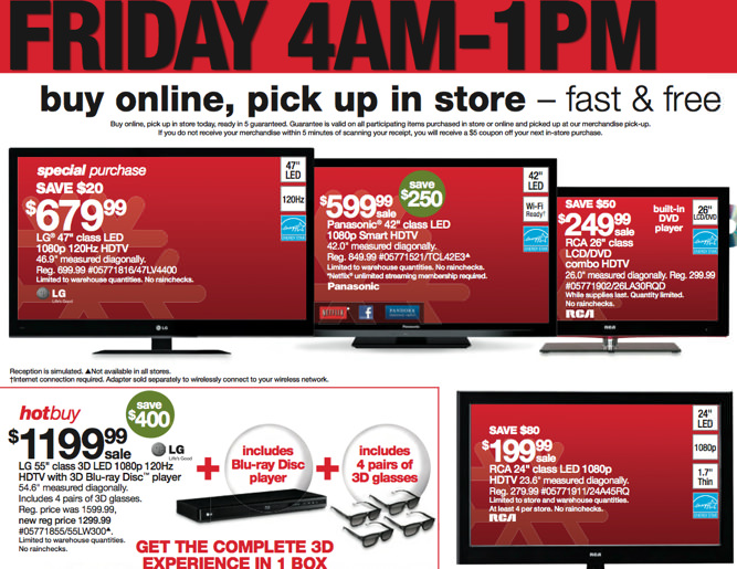 Sears Black Friday 2011