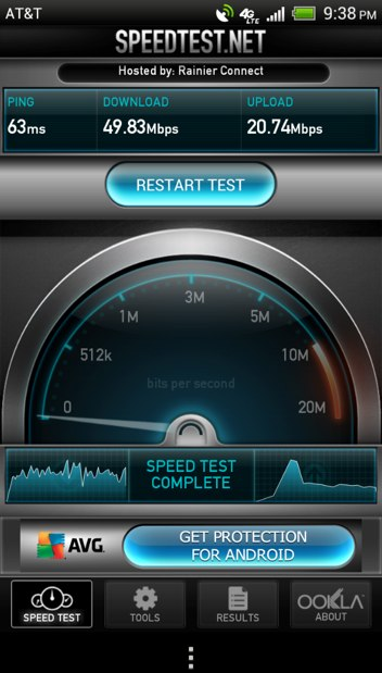 AT&amp;T LTE Seattle Portland