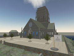 Second Life Cathedral