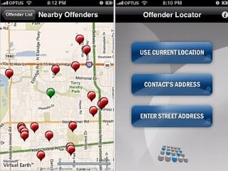 Sex Offender Locator App