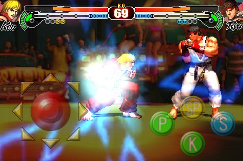 Street Fighter IV iPhone