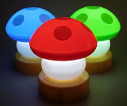USB Mushroom Lamp
