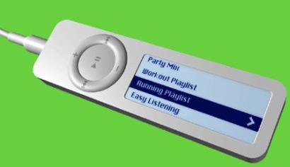 iPod shuffle screen