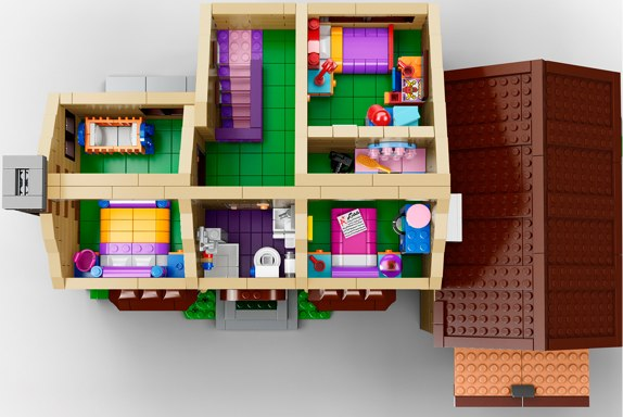 The Simpsons Home 71006 lego